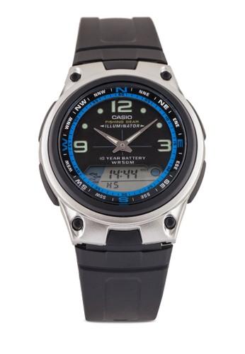 Casio AW-82-1AVDFesprit服飾 多功能指針錶, 錶類, 其它錶帶