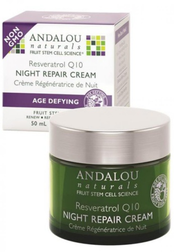 Andalou Naturals Resveratrol Q10 Night Repair Cream AN136BE91PAMSG_1
