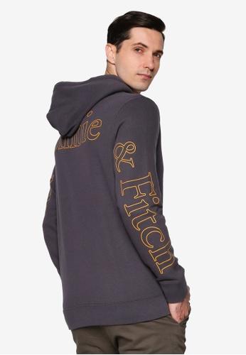 Abercrombie & Fitch black Print Exploded Logo Sweatshirt 4C1B5AA8266ED2GS_1