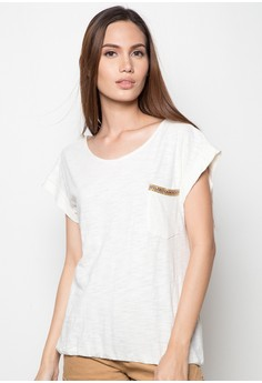 Beige Pocket Shirt