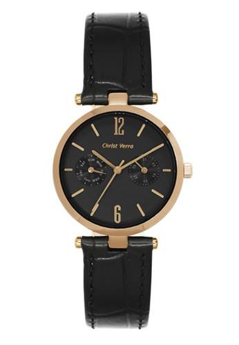 Christ Verra black Christ Verra Women's Watches CV 75037L-25 BLK 743CFACE5785CBGS_1