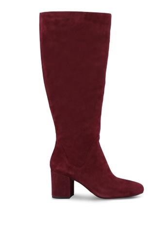 ALDO red Lilinia Boots AL087SH0RYILMY_1