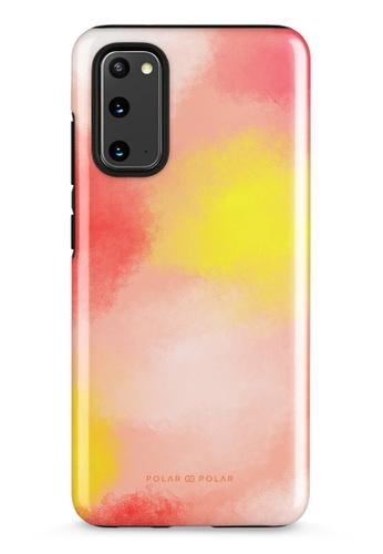 Polar Polar yellow Clouds in Fall Samsung Galaxy S20 5G Dual-Layer Protective Phone Case (Glossy) 6041EAC88E6E38GS_1