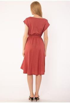 59a2ecfc092ca Plain B. Plain B.Stripe Midi Dress RM 139.90. Sizes One Size