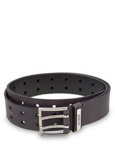 39MM Perforated Leather Belt