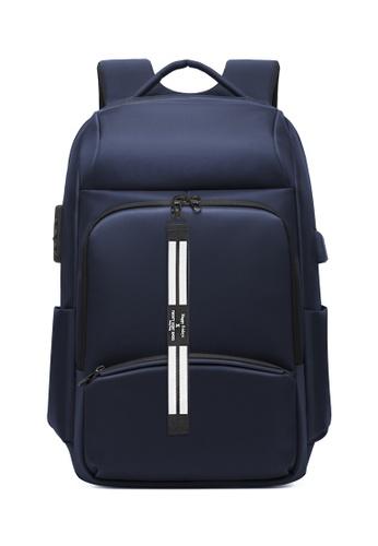 Twenty Eight Shoes blue Business Laptop Backpack 2716 608DCAC2B1D2A5GS_1