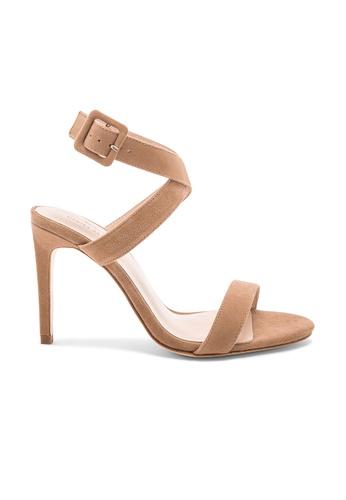 Chrissy Teigen beige and brown x REVOLVE Murry Heel BB282SH2CDD600GS_1