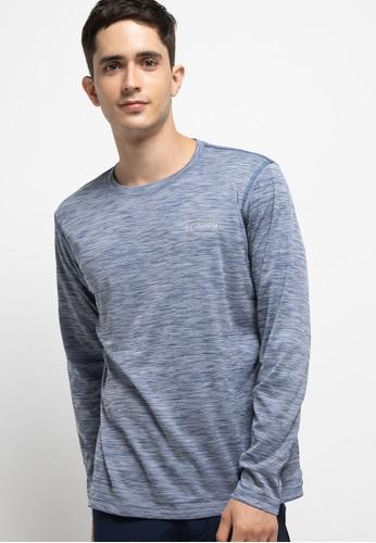 Columbia grey Zero Rules Long Sleeve Shirt 4C8C3AA4F7A203GS_1