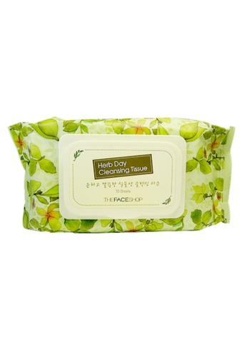 THE FACE SHOP Herb Day Cleansing Tissue (70) 304A6BEE78E080GS_1