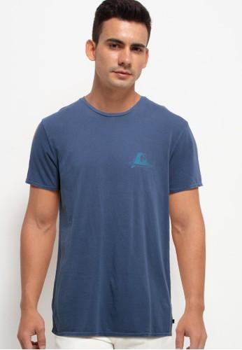 Quiksilver blue Shake & Shiver Short Sleeve Tee B4BDEAA9D03CE3GS_1