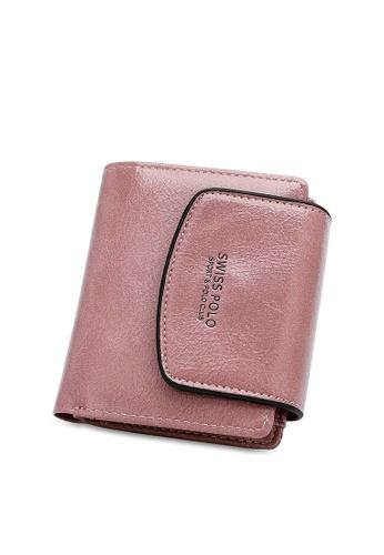Swiss Polo pink Short Lapel Purse D5EE7AC9CE74B5GS_1