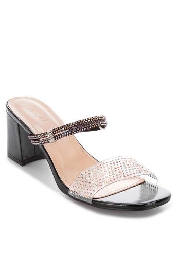 Suki black Heeled Slides AC08CSH91C557BGS_1