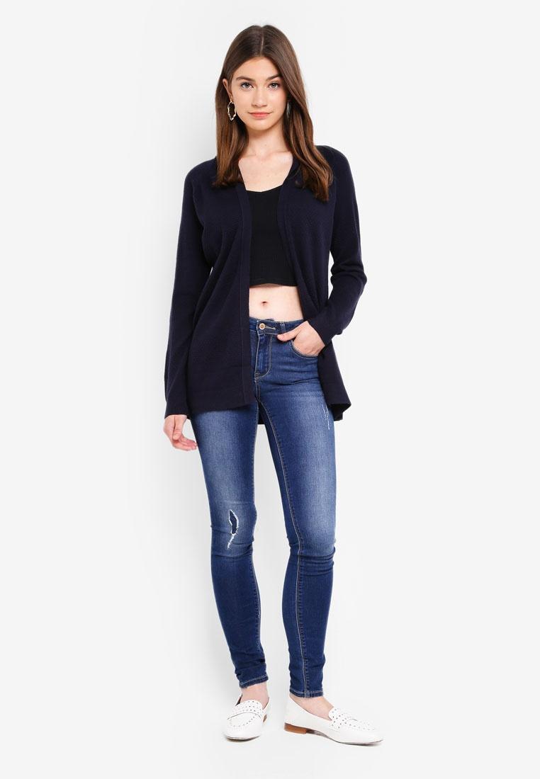 Dark Carmen Blue ONLY Denim Jeans ZPnqPdR