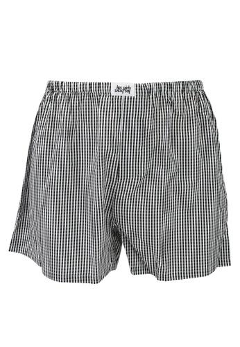 Les Girls Les Boys black Stripe Boxers 9D874US6C19086GS_1