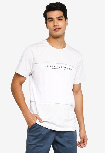 Rip Curl white Section VaporCool Tee 14071AA3E03EEAGS_1