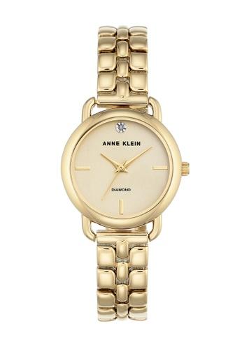 Anne Klein gold Anne Klein Ladies - Metal Bracelet Watch - AK-2794CHGB AN844AC0RH8CMY_1