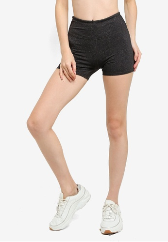 Cotton On Body grey High Waisted Shortie Shorts A8CB9AAECDE4D5GS_1
