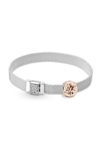 Pandora silver Pandora Reflexions Family Tree Bracelet Set A5336ACF45DEA0GS_1