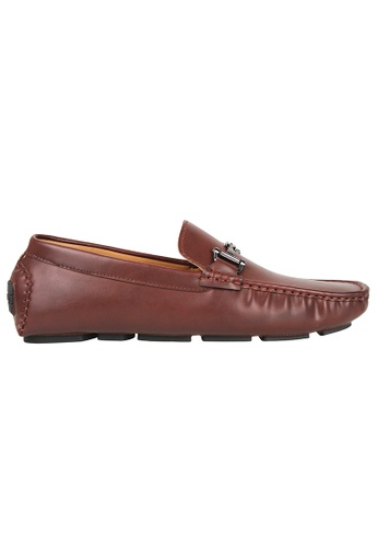 Tomaz brown Tomaz C356 Front Buckled Loafers (Brown) 5E71FSH65FB58BGS_1