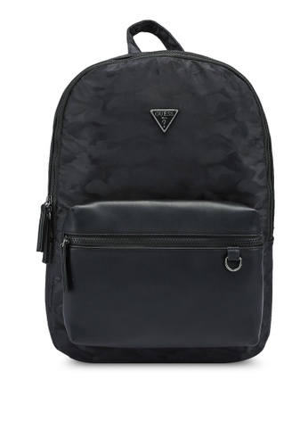Guess black Dyson Backpack 7C669ACD44A5A3GS_1
