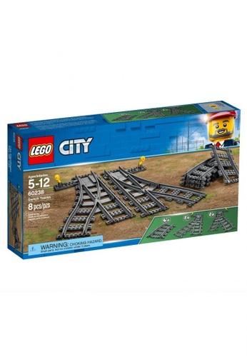 LEGO multi LEGO City Trains 60238 Switch Tracks (8 Pieces) 0AA31THDBD5426GS_1
