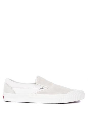 VANS white Rugged Sidewall Classic Slip-On 138 Sneakers F4BE0SH269B6ECGS_1