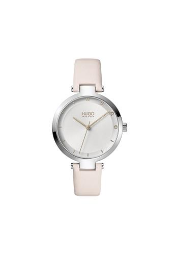 Hugo Boss silver HUGO Hope Silver White Women's Watch (1540074) 5343CAC376661AGS_1