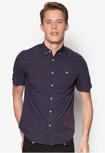 Short Sleeve Woven Shirt, esprit 衣服韓系時尚, 梳妝
