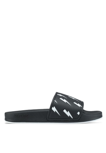 Slydes black Tazer Sandals 82C57SHE878CDEGS_1