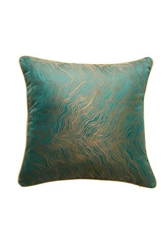 DILAS HOME green Oriental Jacquard Cushion Cover (Green) 600CFHL4CB7202GS_1