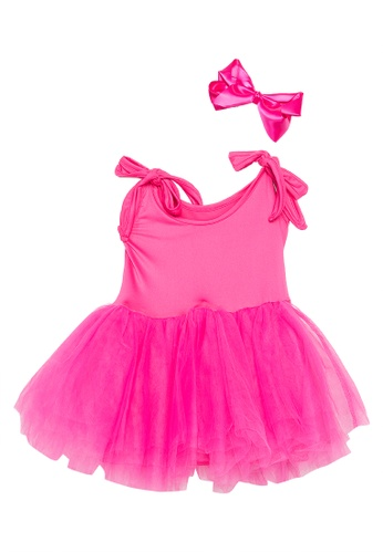 Style Me Little pink Le Petite Ballerine Dress & Satin Bow CCD50KAD631B02GS_1
