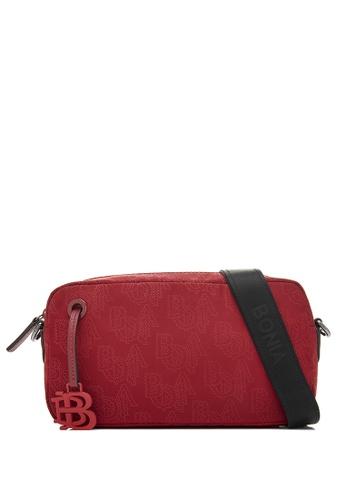 BONIA red Red Mantra Minimalist Sling Bag 289B8AC9A85DCEGS_1