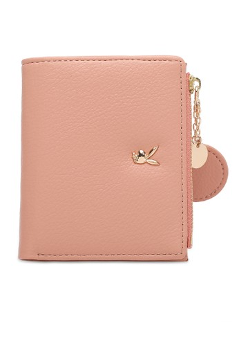 PLAYBOY BUNNY pink Faux Leather Short Purse FB06FACF4BDCA3GS_1