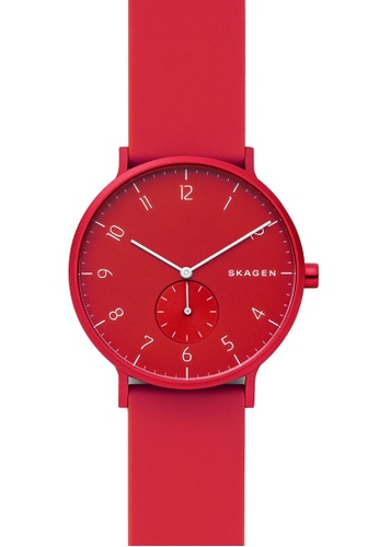 Skagen red Aaren Kulor Watch SKW6512 D3821ACD8FADA6GS_1