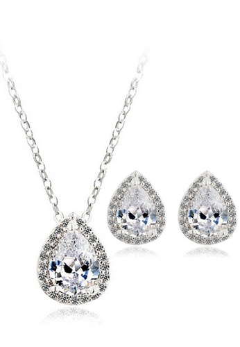 Vivere Rosse silver The Seed Jewelry Set VI014AC22DVLMY_1
