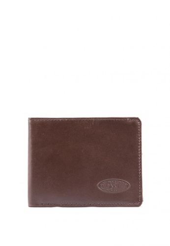 Big Skinny Wallets brown Leather Bifold Wallet EBC4FAC428A25BGS_1