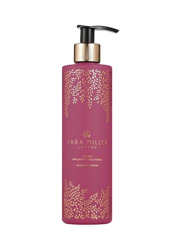 Sara Miller pink Sara Miller Shower Cream - Peony, Bergamot & Amber (FG8512) F2B5ABE9F0693DGS_1