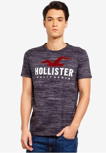 Hollister black Core Logo T-Shirt 1DF90AAF84B386GS_1