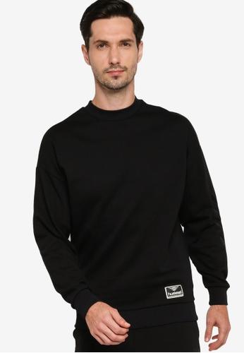 Hummel black Urban Sweatshirt A6B32AA95B1EAFGS_1