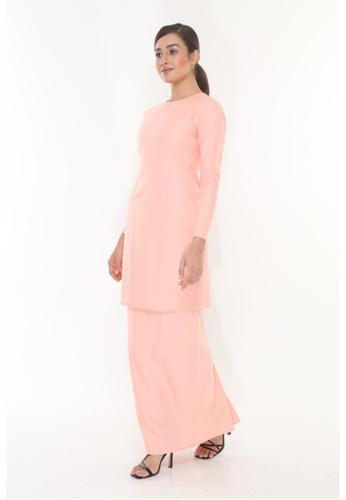 Amar Amran pink Baju Kurung Moden Qasandra 1A89DAA05A0779GS_1