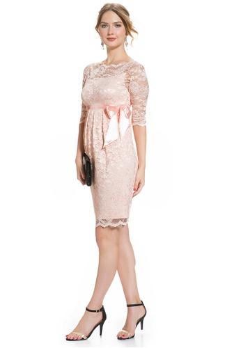 b3216ef1b1c Buy Mayarya Lace Maternity Dress Online on ZALORA Singapore