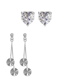 4b7ce413f SC Tom Silver silver Stud Stone Earrings and Stud Dangling Earrings  SC872AC0J5LPPH_1