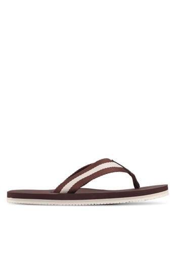 ALDO brown Gwirawen Flip-Flops 80EDESH3007A89GS_1