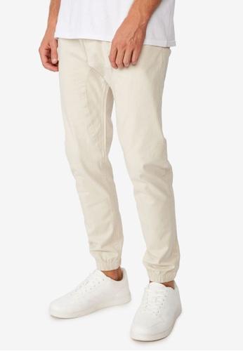 Cotton On white Drake Cuffed Pants 82109AA8610238GS_1