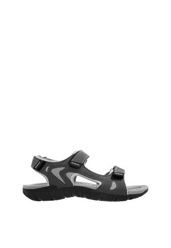 SEMBONIA grey SEMBONIA Men Microfiber Sandal (Light Grey) E1C34SHFC02DB2GS_1