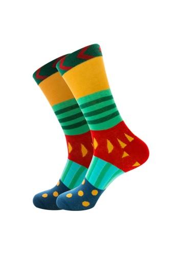 Kings Collection green Watermelon Pattern Cozy Socks (EU39-EU45) 7A77FAA797C9F6GS_1