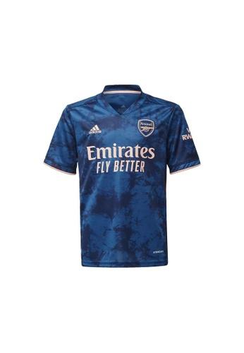 ADIDAS blue adidas Arsenal 20/21 Third Jersey A43F9KA00444F2GS_1