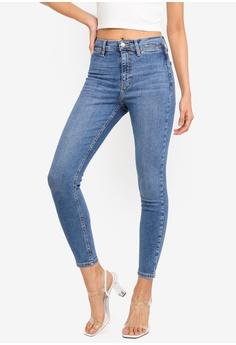 e741ccdefbd8c TOPSHOP blue Mid Denim Jamie Jeans 591C3AA5965099GS 1