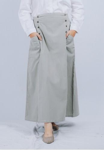 Sekido Official grey Sekido Skirt RUHAMA Light Grey 05E53AA8594026GS_1