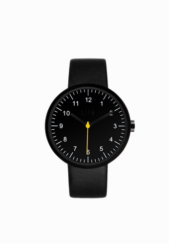 Life8 black Casual Sapphire Pure Digital Watch (Two Straps)-05251-Black LI248AC2UXK3HK_1